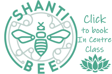 Click button to book the Shanti Bee In Centre class.