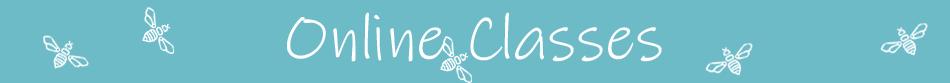 Shanti Bee Online Zoom Classes Banner