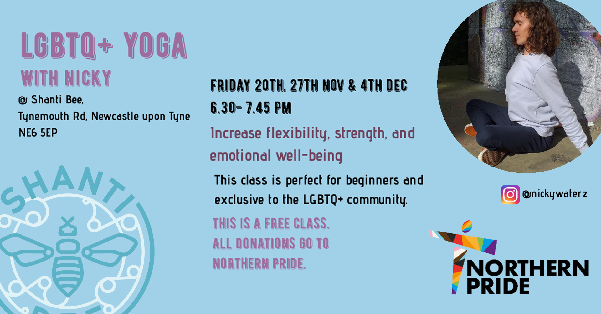 LGBTQ+ Yoga with Nicky