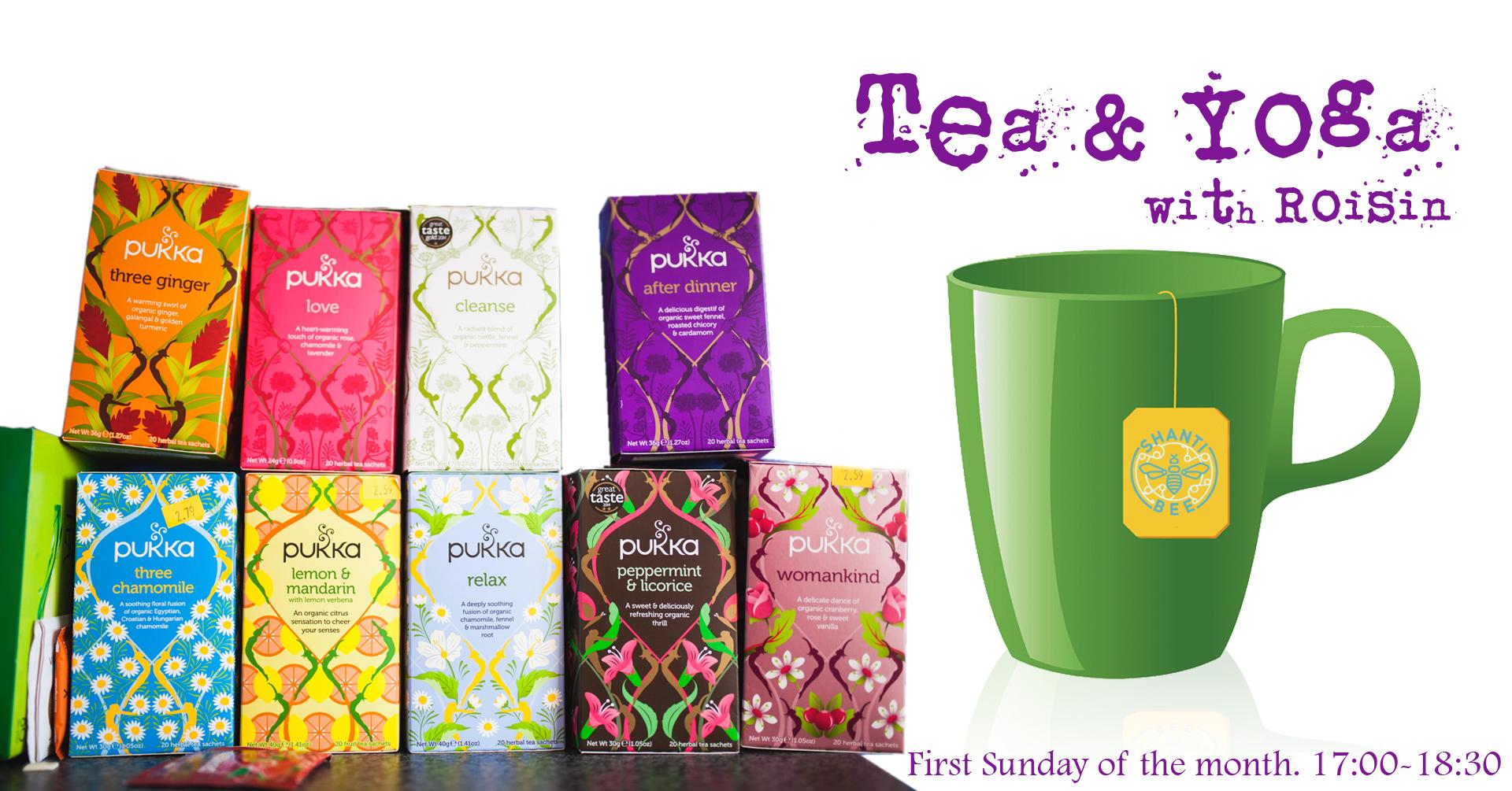 Tea & Yoga with Roisin