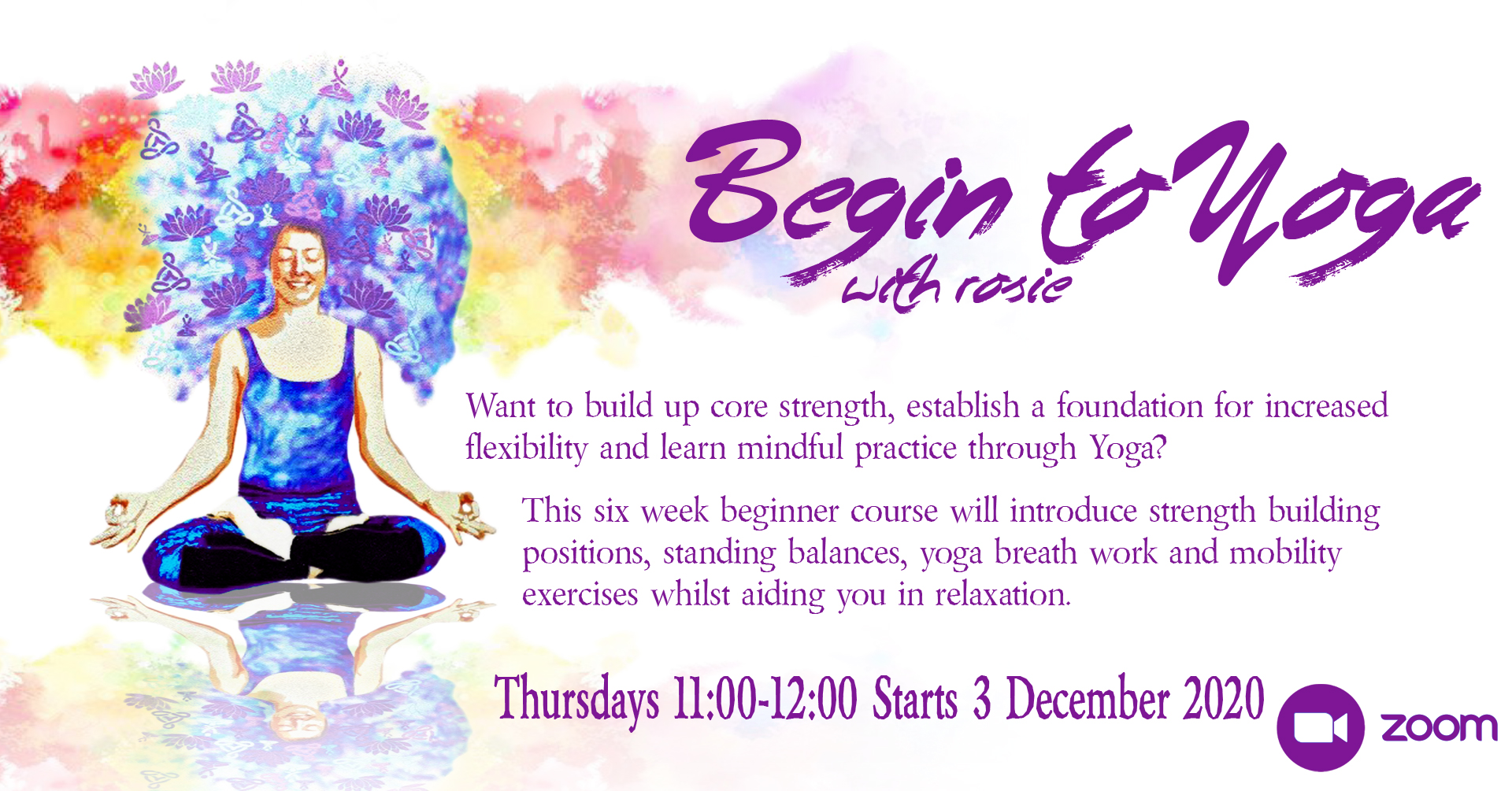Begin To Yoga with Rosie